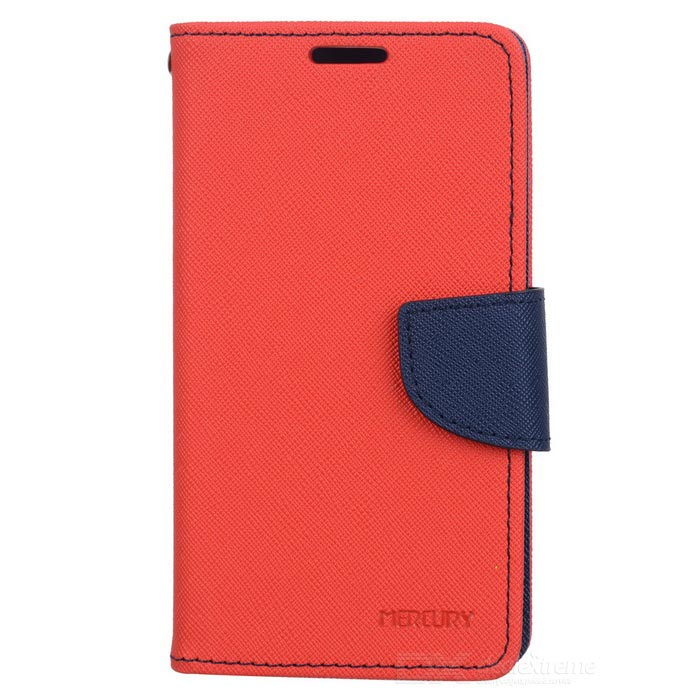 Stylish Protective TPU + PU Leather Case for Samsung Galaxy S4 i9500 - Red стоимость