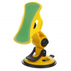 GRIPGO Universal 360 Degree Rotatable Car Mount Holder for Cell Phone - Yellow + Black