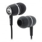 ChenGuang ADG98009 Stylish In-Ear Earphone - Black + Silver