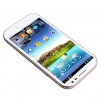 "H9500 quad-Core Android 4.2.1 WCDMA Smartphone avec 5.0 ""IPS, Wi-Fi, GPS et Dual-SIM-Blanc"
