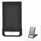 Protective 360 Degree Rotatable Back Case for iPhone 5 - Black