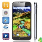 "N7100 Quad Core Android 4.2.1 WCDMA Bar Phone w/ 5.3"" Screen, 1GB RAM, 4GB ROM and GPS - Grey"