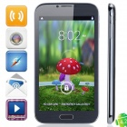 Note 3 Quad Core Android 4.2.1 WCDMA Bar Phone w/ 6.0' Capacitive Screen, Wi-Fi and GPS - Black