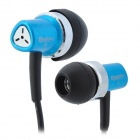 ChenGuang ADG98085 Stylish Stereo In-Ear Earphone - Black + Blue