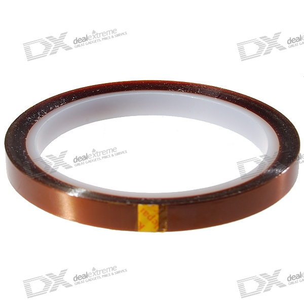 Polyimide Heat Resistant/High Temperature Adhesive Tape (8MM*33M/260'C)