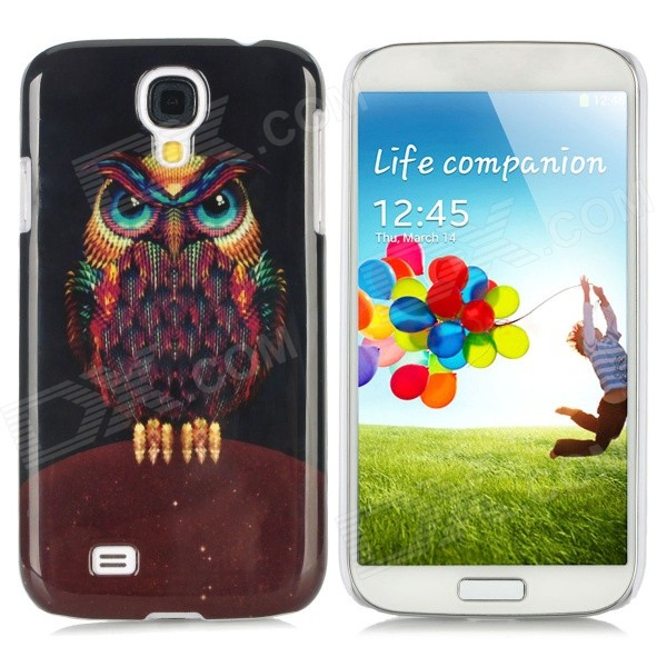 Owl Pattern Protective Plastic Hard Back Case for Samsung S4 i9500 - Multicolored protective cute spots pattern back case for samsung galaxy s4 i9500 multicolored