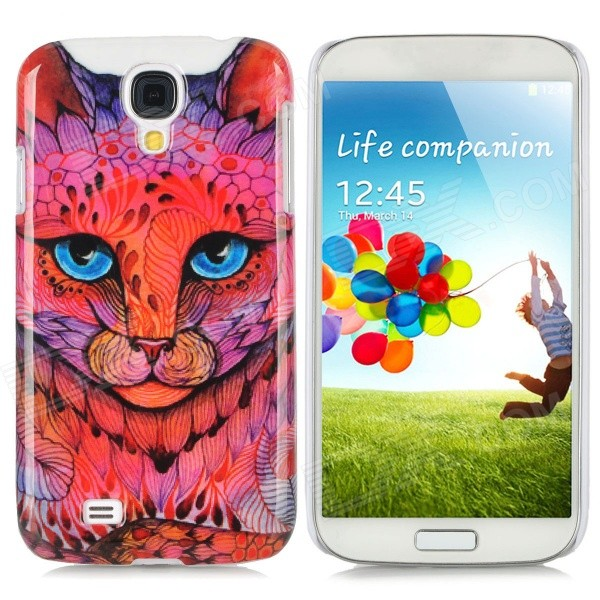 Leopard Style Protective Plastic Back Case for Samsung Galaxy S4 i9500 - Multicolor protective cute spots pattern back case for samsung galaxy s4 i9500 multicolored