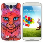 Leopard Style Protective Plastic Back Case for Samsung Galaxy S4 i9500 - Multicolor