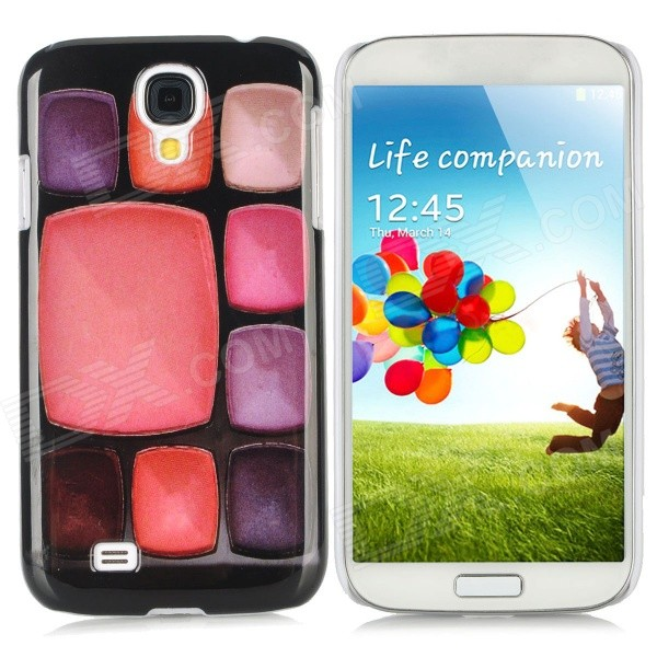 9 Make-up Cases Pattern Protective Plastic Back Case for Samsung i9500 - Multicolored protective cute spots pattern back case for samsung galaxy s4 i9500 multicolored