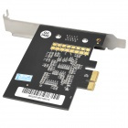 Real-Time 4-CH Digital DVR Video / Audio Capture Recording Compression Card - Black