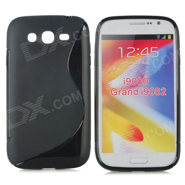 S Style Protective TPU Back Case for Samsung Galaxy Grand Duos i9082 / i9080 - Black