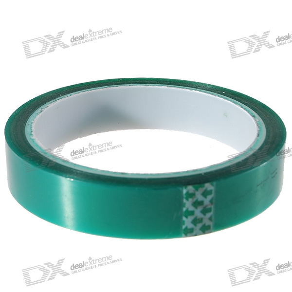 PET Heat Resistant/High Temperature Adhesive Tape (18MM*33M/-20~250C)