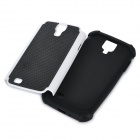 Motif de basket-ball de protection en silicone affaire pour Samsung i9500 - Noir +