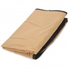 XD-01 12-Case Portable Non-woven Cloth + PVC Shoe Storage Bag - Light Coffee
