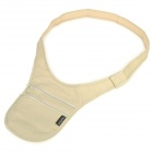 TravelIcons Profissional Anti Theft Shoulder Bag - Beige