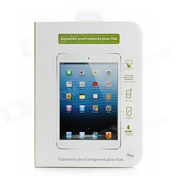 Explosion-Proof Tempered Glass Glossy Film Protector for Ipad MINI - Translucent Blue