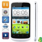 "ZTE V889F MSM8225 Dual-Core Android 4.0.4 WCDMA Bar Phone w/ 4.0"" , Wi-Fi and GPS - White + Black"