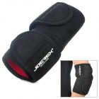 Joerex JE078 Professional Sports Velcro Elbow Support Garde - Schwarz