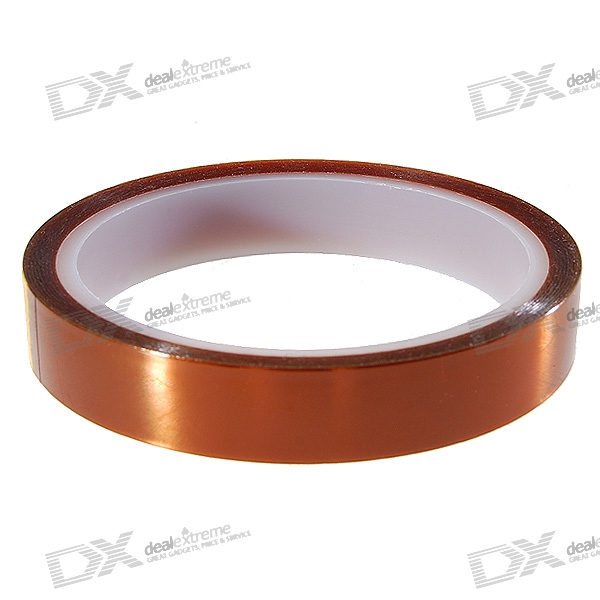 Polyimide Heat Resistant/High Temperature Adhesive Tape (16MM*33M/260-C)