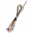 K Type Thermocouple Probe Type Temperature Sensor - Silver Grey