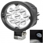 27W 2100lm 6500K White Light Car Arbeits-Lampe w / 9-Cree LED - Schwarz