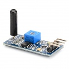High Sensitivity Alarm Vibration Sensor Module - Blue + Black
