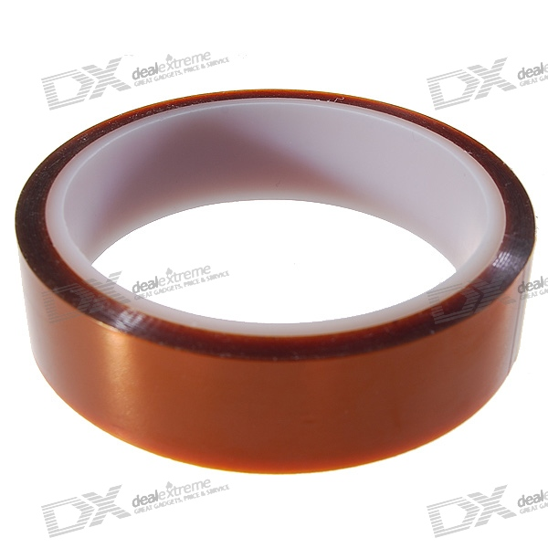 Polyimide Heat Resistant/High Temperature Adhesive Tape (24MM*33M/260-C)