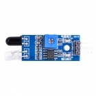 Smart Car Infrared Obstacle Avoidance Sensor - Black + Blue