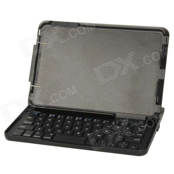 ipega PG-IPM015 Bluetooth V3.0 Keyboard w/ Slide Case Stand for Ipad MINI - Black