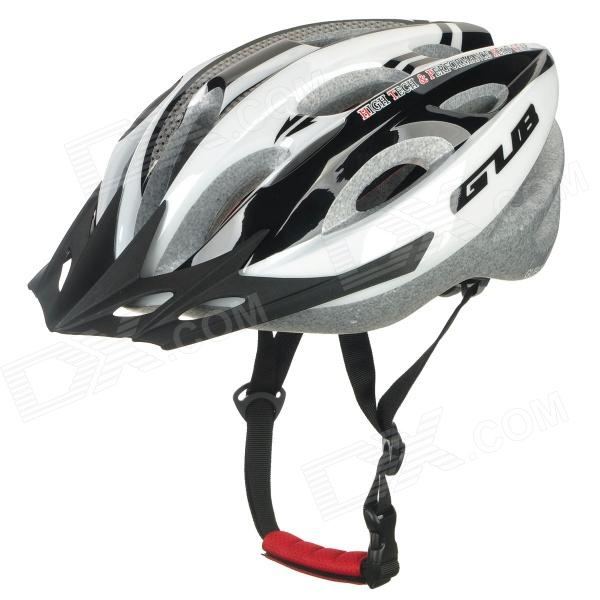 GUB X5 Outdoor Sports 19-Venthole Bicycle Bike Cycling Helmet - Black + White