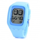 Fashion Digital LED Touch Screen Wrist Watch for Children - Blue
