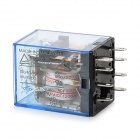TIANBO MY2-H 5A 24V Electromagnetic Relay - Black + Transparent