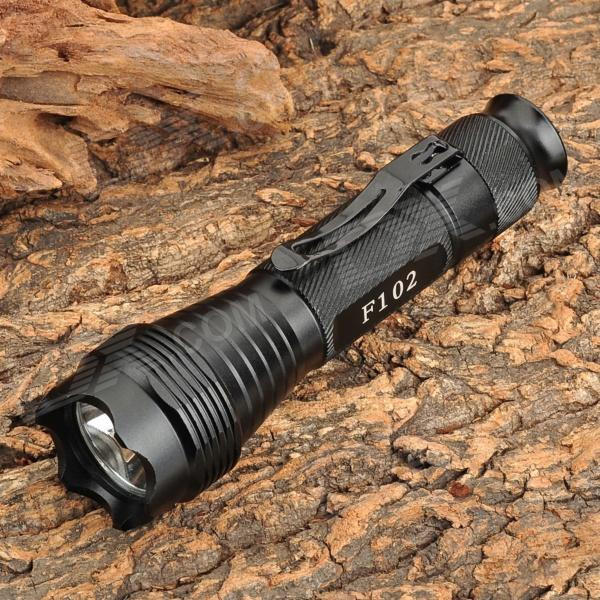 FANDYFIRE 500lm White Flashlight w/ CREE XM-L T6 - Black (1 x 18650) свекла цилиндра семена