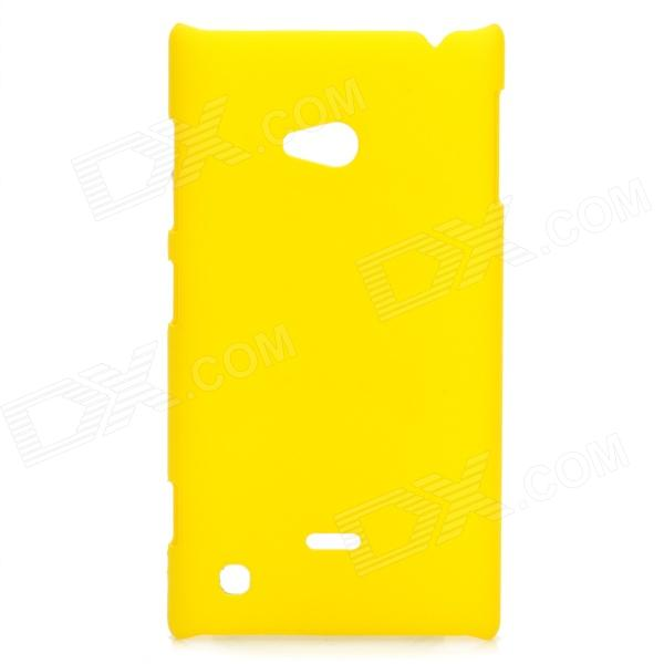 Protective Plastic Hard Case for Nokia Lumia 720 - Yellow