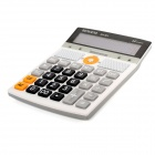 SK-M1 2-in-1 Calculator + MP3 Player w/ FM Radio / TF / USB - Grey + Black