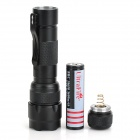 UltraFire WF-502B 550lm 3-Mode White Flashlight w/ Cree XM-L2 T6 - Black (1 x 18650)