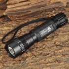 UltraFire WF-501B CREE XM-L2 T6 500lm 5-Mode Memory White Flashlight - Black (1 x 18650)