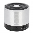 SLANG M2 BROADCOM V3.0+EDR Super Bass Bluetooth Speaker w/ Voice Prompt / Handsfree - Silver + Black