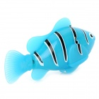 Electric Water Activated Magical Turbot Fish Toy for Kids - Blue + Black