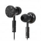 CoGoo!! F118 Fashion Both Sides Available Super Bass Earphones - Black (3.5mm Plug)