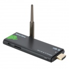 LrG Quad-Core Android 4.2.2 Mini-PC Google TV Player w / 1GB RAM / 8GB ROM / Antenne - Schwarz