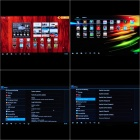 LRG Quad-Core Android 4.2.2 Mini PC Google TV Player w / 1GB RAM / 8GB ROM / Antena - Preto