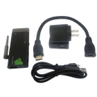 LrG Quad-Core Android 4.2.2 Mini PC Google TV Player w/ 1GB RAM / 8GB ROM / Antenna - Black