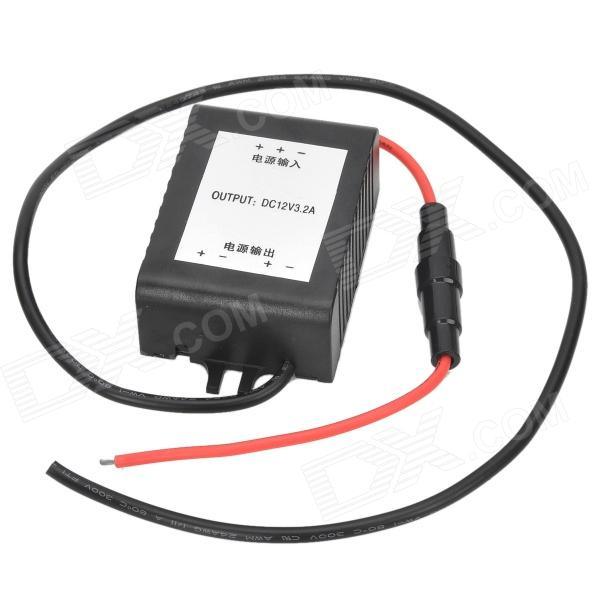 3.2A 12V Car Halogen / Brake Light Strobe Mode Converter - Black