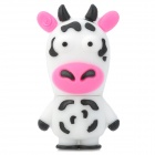 Cute Cartoon Dairy Cow USB Flash Drive - Pink + White + Purple (16GB)