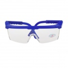 Industrial Safety Protective Glasses Goggles - Blue + Transparent