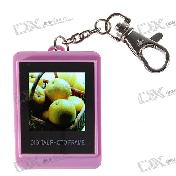 "1.5 ""LCD аккумуляторная цифровой USB Photo Frame Keychain (107-Picture-памяти)"