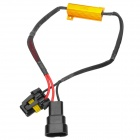 HB3 / HB4 (9005 / 9006) Car LED Light Decoder - Golden + Black + Red