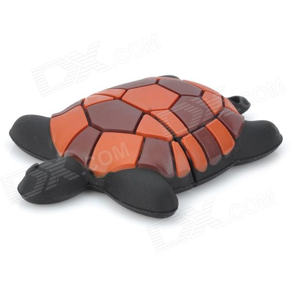 Cute Cartoon Tortoise USB Flash Drive - Brown + Black (8GB)