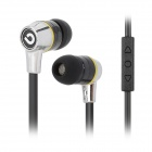 BIDENUO In-ear Style Stereo Earphone - Black (3.5mm Plug)